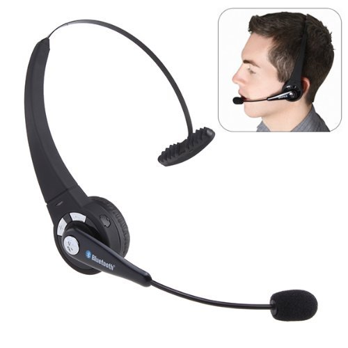 Wireless Bluetooth Headphone For Sony Playstation 3 Ps3 With Mic Microphone