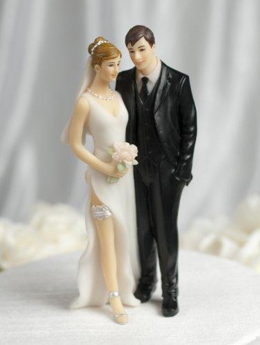 Love Grab Butt Pinch Tender Touch Wedding Cake Topper