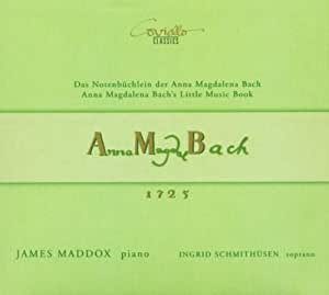 Notenbüchlein der Anna Magdalena Bach 1725