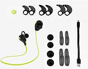 (サウンドピーツ)Soundpeats ワイヤレス スポーツ ヘッドセット QY7 black/black [並行輸入品]