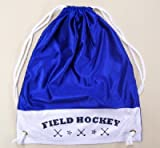 Field Hockey Tote Bag - Black, Red or Royal