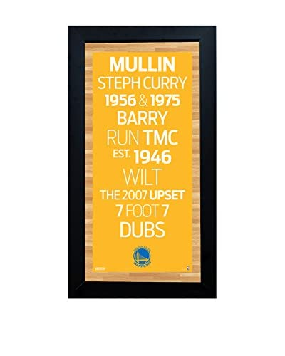 Steiner Sports Memorabilia Framed Golden State Warriors Subway Sign