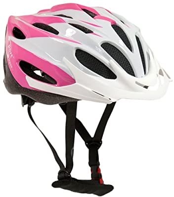 "Sport DirectTM ""Junior Rosa"" 22 Vent Bicycle Bike Cycle Helmet Girls Pink 54-56cm CE EN1078 TUV Approvals by Sport DirectTM"
