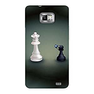 Queen and Pawn Back Case Cover for Galaxy S2