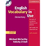 English Vocabulary in Use - Elementary. Edition with answers and CD-ROM