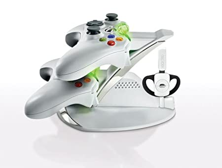 Xbox 360 Energizer Power and Play Charging System - White