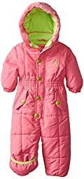 Rugged Bear Baby Girls\' Solid Snowpram, Strawberry, 24 Months
