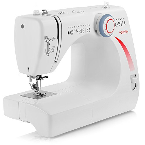 Toyota Heavy-Duty Metal Interior Stf39 (Stf 39) Sewing Machine With 20 Built-In Stitches