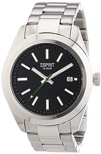 Esprit Herrenuhr milo silver black A.ES102781003