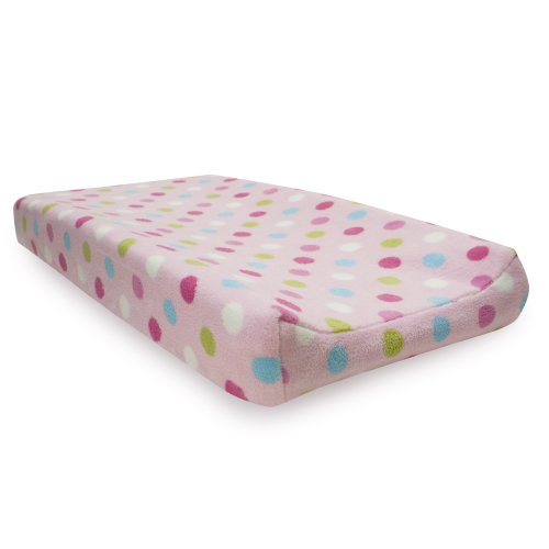 Lambs & Ivy Changing Pad Cover, Puppy Tales - 1