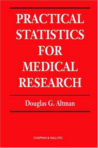 Practical Statistics for Medical Research (Chapman &...