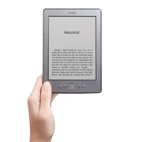 Kindle, 6&quot; E Ink Display, Wi-Fi - Includes Special Offers  (Graphite)