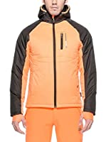 Peak Mountain Chaqueta Cepeak (Naranja / Marrón)