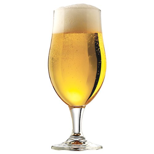 Libbey Craft Brews 16.5-Ounce Clear Belgian Ale Glass Set, 4-Piece