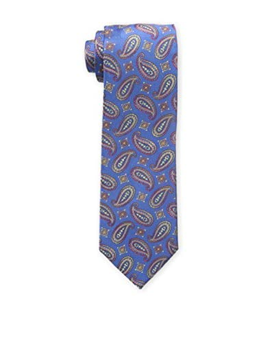 Bruno Piattelli Men's Paisley Multi Tie, Blue