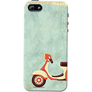 DailyObjects Skooter Grunge Case For iPhone 5/5S (Back Cover)