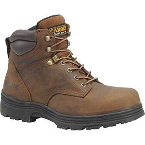 Carolina Men'S 6-Inch Waterproof Work Boot Copper Crazy Horse Lthr 8.5 D Us