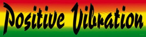 Licenses Products Generic Reggae and Rasta Positive Sticker - 1