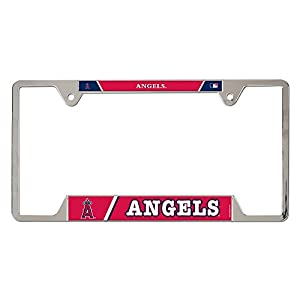MLB Los Angeles Angels of Anaheim Chrome License Plate Frame