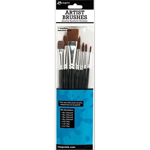 Ranger 7-Piece Artist Brush Set (Ranger Proof compare prices)