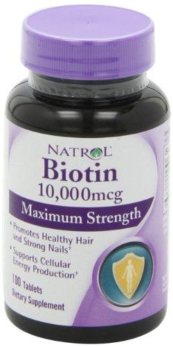 10000 biotin hair growth