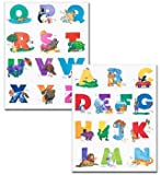 Alphabet Bulletin Board Accents (0742404099) by School Specialty Publishing