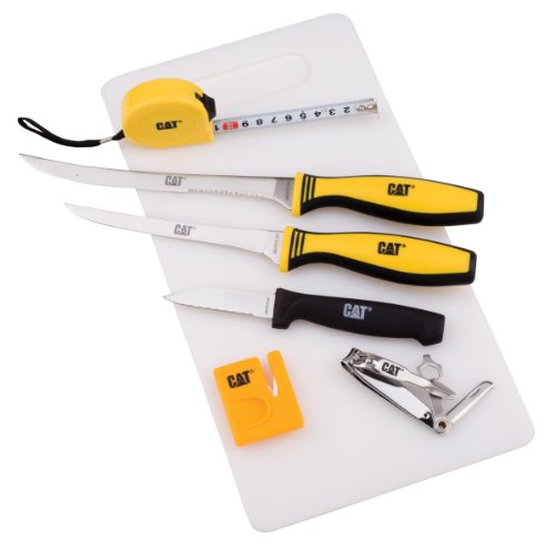 Kutmaster 91-C780Cp CAT Tackle Box Filet Knife Kit
