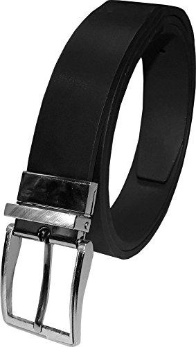 "LUNA Mens NEW Twist Buckle Reverse Belt - 1.5"" Wide - Large"