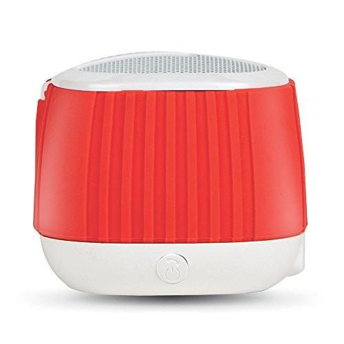 Amkette Trubeats Pixie Portable Bluetooth Speaker and Mic (White)