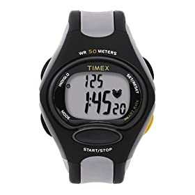 Timex Triathlon Digital Heart Rate Monitor Watch #T5C351