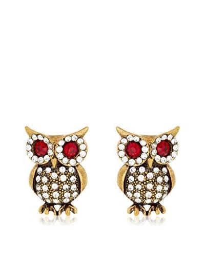 Amrita Singh Pendientes Eyeing Owl