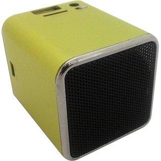 Snowfire Cube-Gn Cuboid Portable Speaker - Green