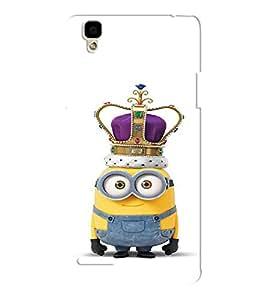 EPICCASE Minion King Mobile Back Case Cover For Oppo F1 (Designer Case)