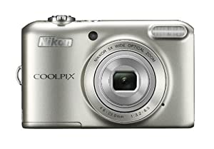 "Nikon COOLPIX L28 20.1 MP Digital Camera with 5x Zoom Lens and 3"" LCD (Silver)"