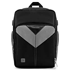 MyVangoddy Canon EOS 70D Gray Sparta Collection SLR Camera Backpack