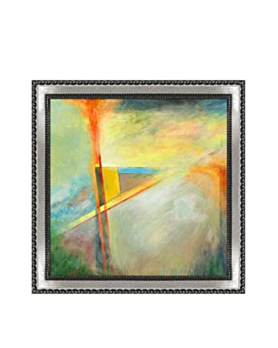 Clive Watts Edge Of Abstraction No 1 Framed Print On Canvas, Multi, 28.75″ x 28.75″