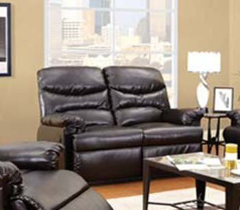 ACME 50936 Arcadia Power Motion Loveseat, Espresso Bonded Leather