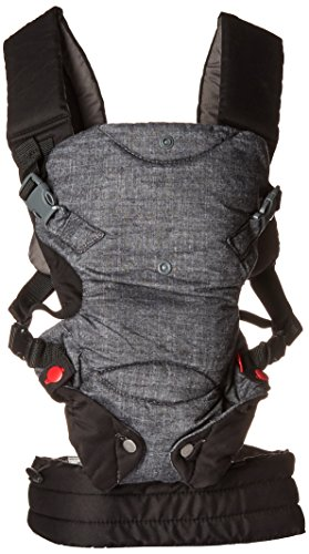 Infantino-Fusion-Flexible-Position-Baby-Carrier-Grey
