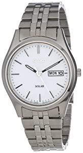 Seiko-SNE031-Solar-White-Watch