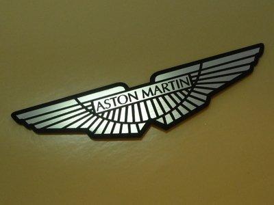 Aston Martin Winged Logo Style Laser Cut Magnet アストンマーチン マグネット 磁石 海外限定 100mm × 22mm [並行輸入品]