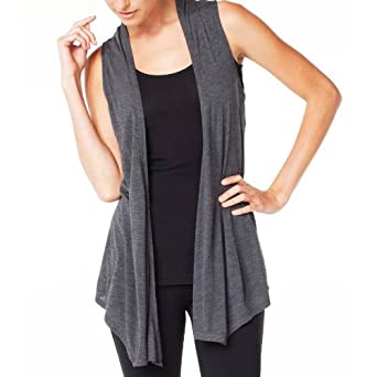 drape waterfall vest