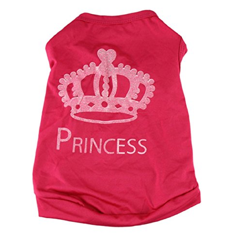 New Arrival Pet Dog t shirt tee Sweet Cute Puppy Dog Clothes Puggy Coat Costumes dogs pets clothing (Daisy Duke Fancy Dress)