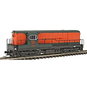 Atlas New Haven #598, Early Body and Cab, with Sill Mounted Handrails H16-44 with Decoder N Scale Locomotive