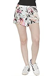 DivaatWinter Floral Shorts