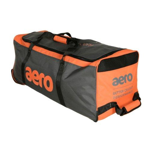 Aero Midi Wheeled Cricket Bag (Yellow/Black)