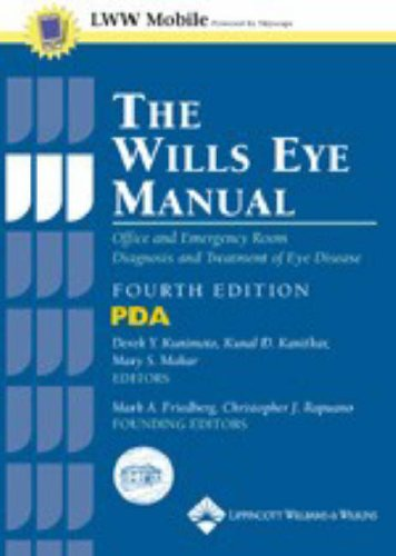 The Wills Eye Manual, Fourth Edition, for PDA: Powered by Skyscape, Inc.