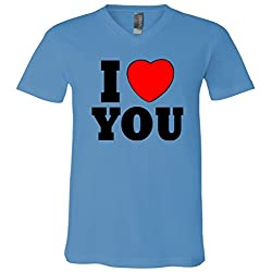 I Love You V-Neck T-Shirt