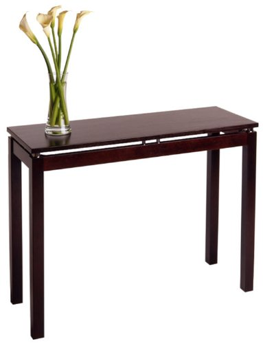 Cheap Linea Console / Hall Table With Chrome Accent By Winsome Wood (B003T2M8F6)