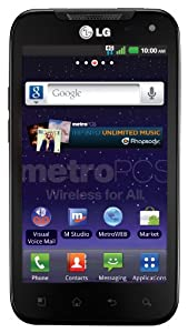 LG Connect 4G Prepaid Android Phone (MetroPCS)