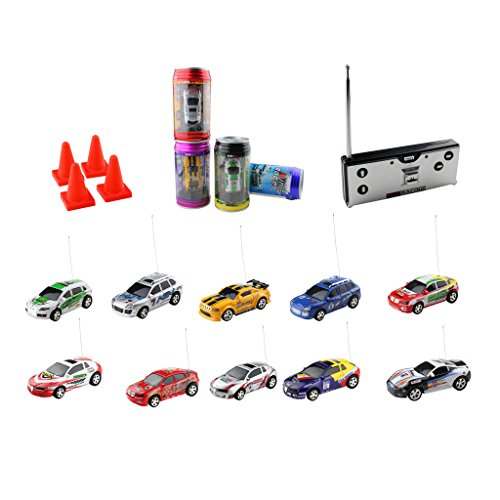 iKKEGOL Mini Coke Can RC Radio Remote Controlled Micro Racing Car Toy Vehicles Random Gift (Cars Micro Racers compare prices)